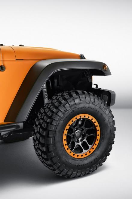 Jeep Wrangler Sunriser showcar