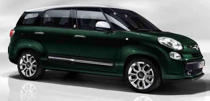 Fiat 500l Living La 500 A 7 Posti